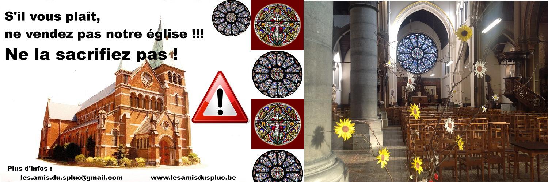 L'église Notre-Dame du Saint Sépulcre et Saint Paul au Parvis Notre-Dame, 1400 Nivelles, n'est pas à vendre !